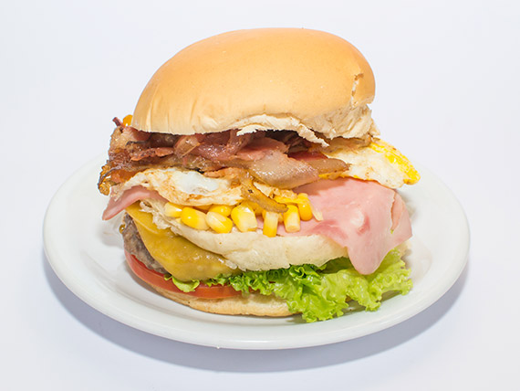 19 - Sanduíche especial picanha burguer