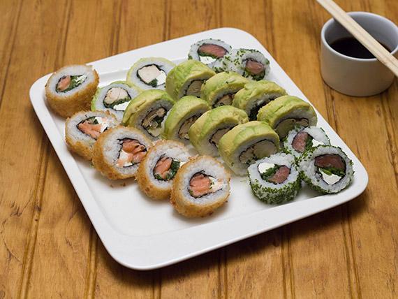Promo 1 - Sushi rolls (20 piezas)