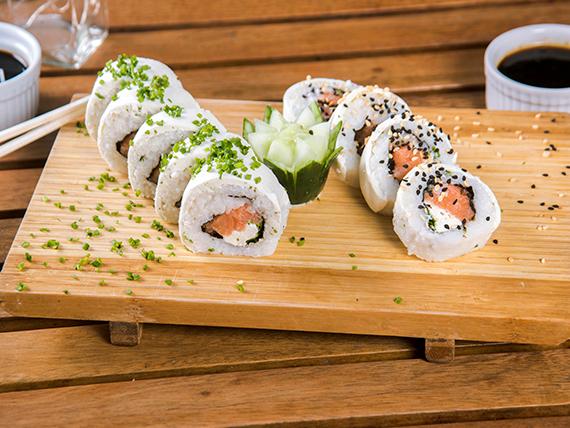 40 - Dr. queso de salmón (10 piezas)