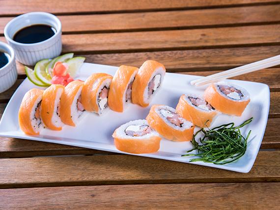 27 - Dr. salmón de camarón (10 piezas)
