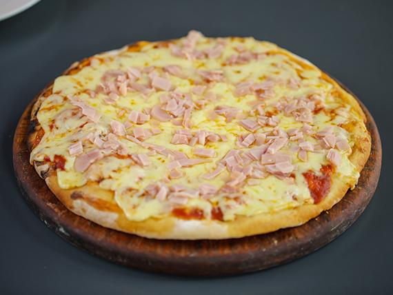 Pizzeta con muzzarela y 1 gusto