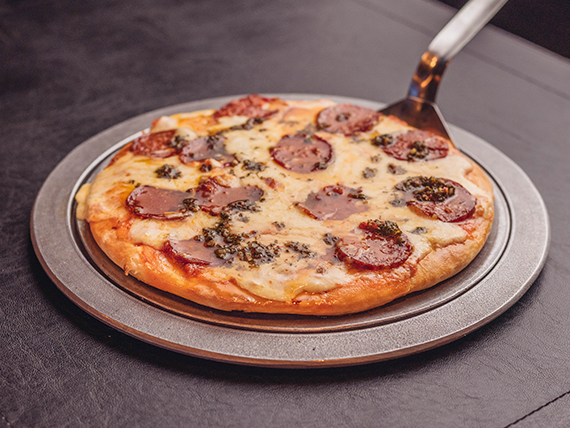 Pizza pepperoni original