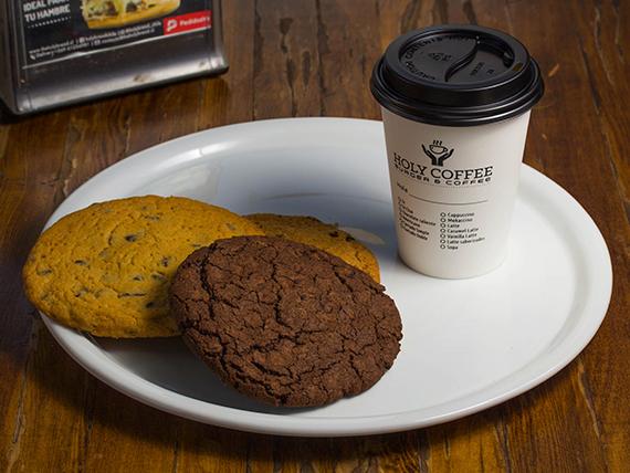 Desayuno 5 - Galletón artesanal + café de grano