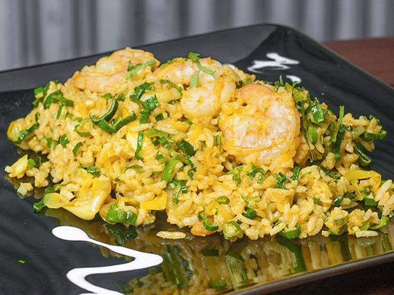 Wok arroz cam thai