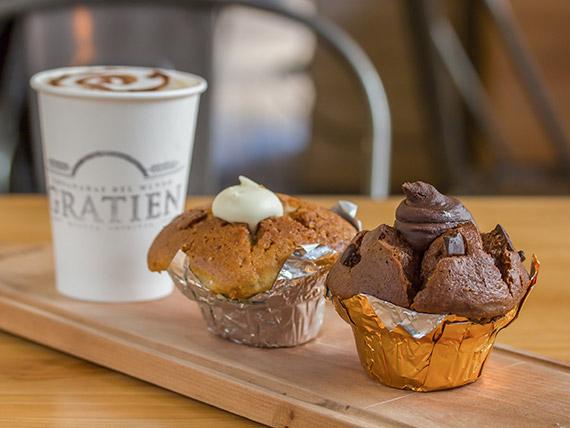 Promoción - 5 muffins rellenos