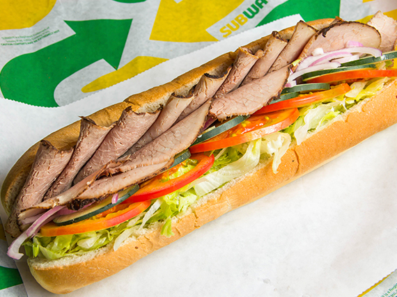 Subway roast beef (30 cm)