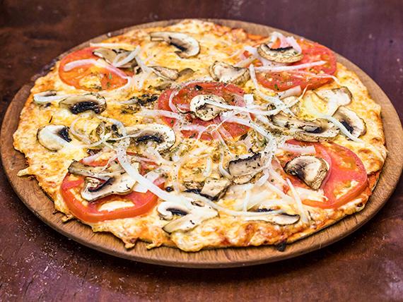 Pizza mediana azurra