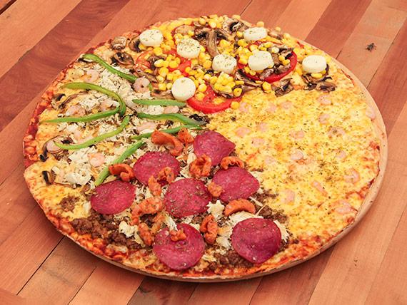 Pizza familiar benvenutto