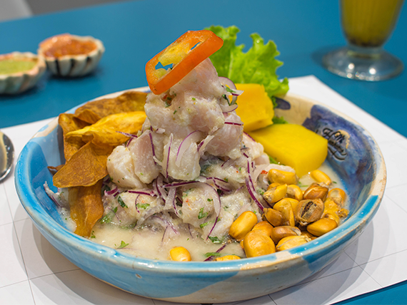 Ceviche bacan