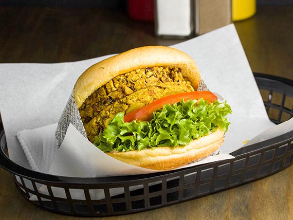 Hamburguesa Veggie Large