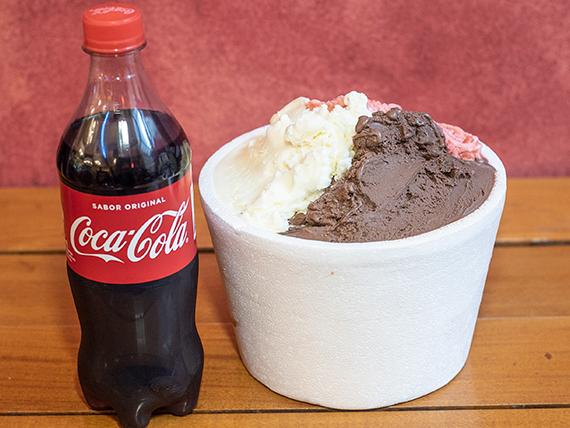 Combo 3 -1 kg + Coca Cola 600 ml