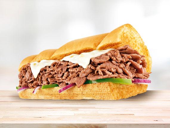 Subway de carne y queso (15 cm)