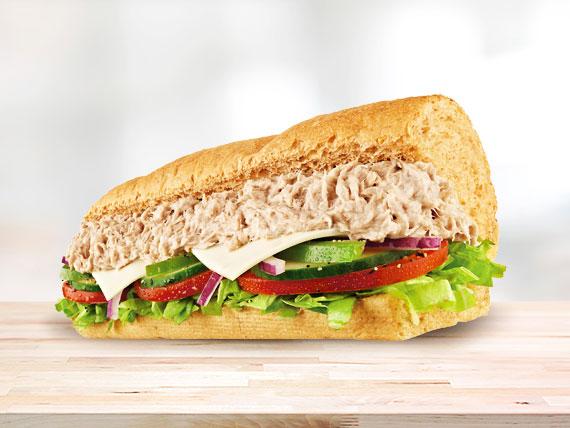 Subway de atún (15 cm)