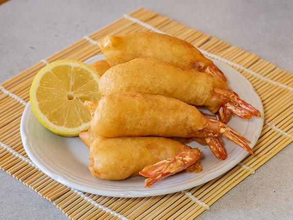 7 - Langostinos fritos