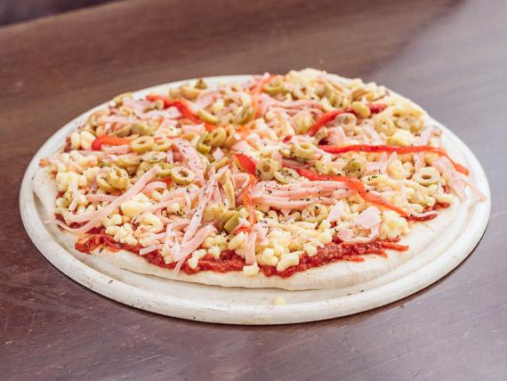 Pizza fría especial (8 porciones)