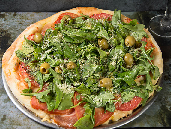 Pizza especial prosciutto