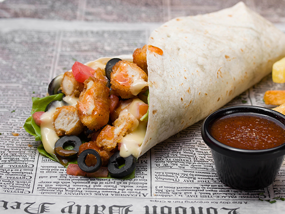 Juicy Chicken Wrap