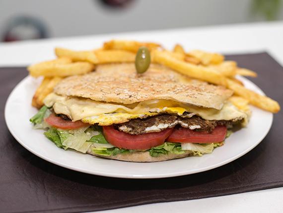Sándwich de hambursoja