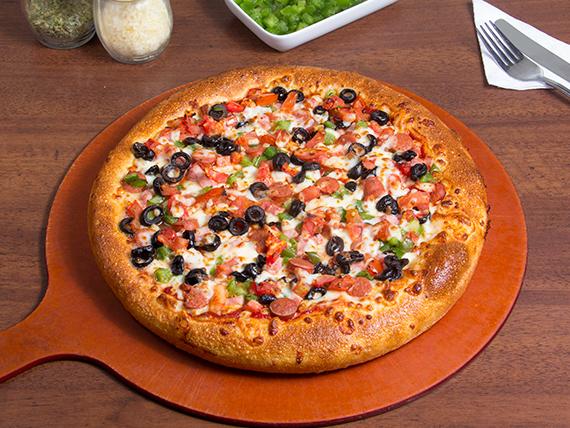 Pizza españolísima mediana