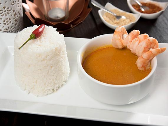 Curry satay