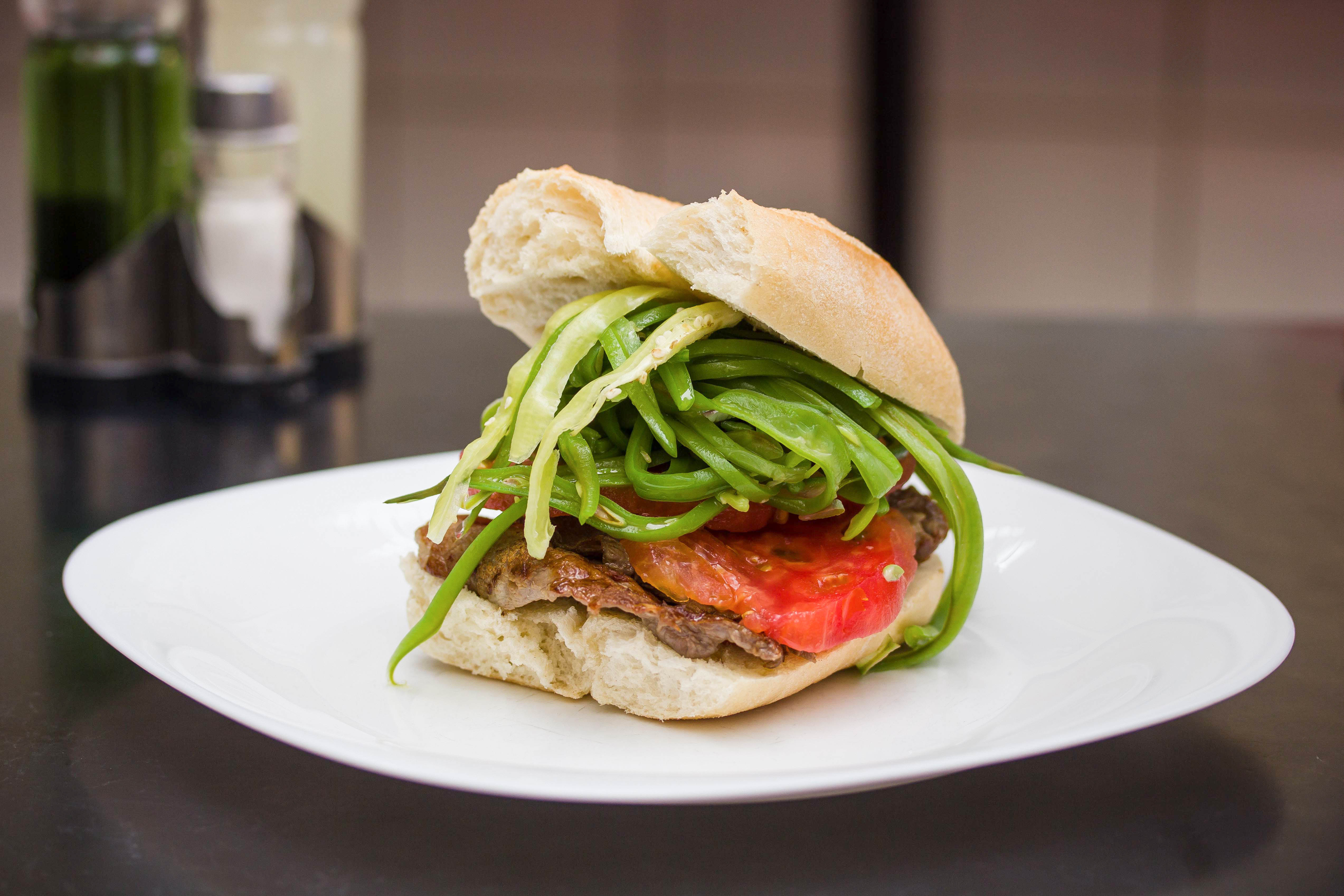 Sándwich chacarero