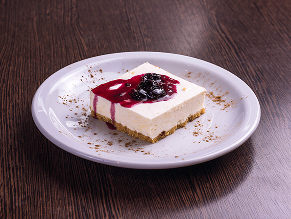 Cheescake frutos rojos