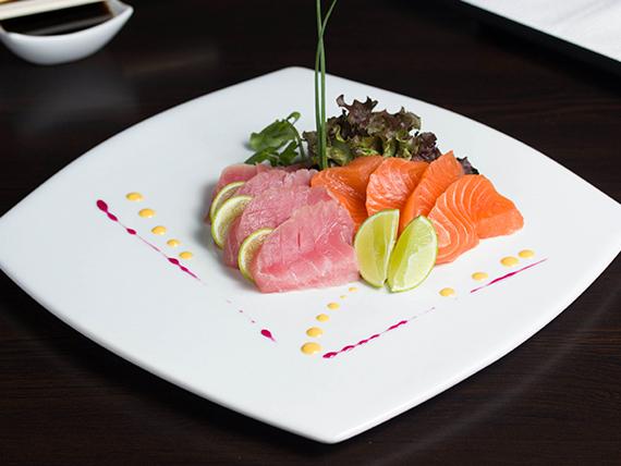 Sashimi del chef (9 cortes)
