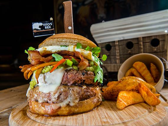 Tito's Rex Burger