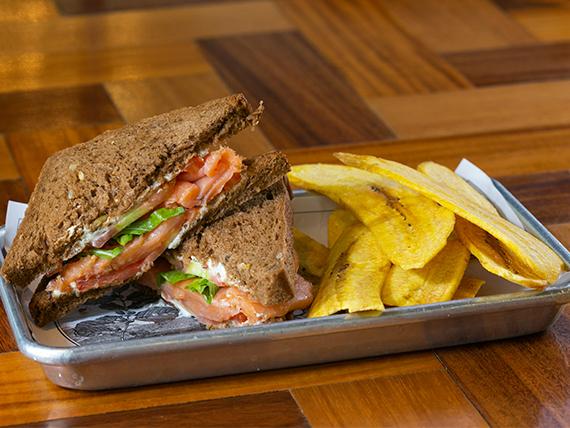 Sandwich Smoked Salmon