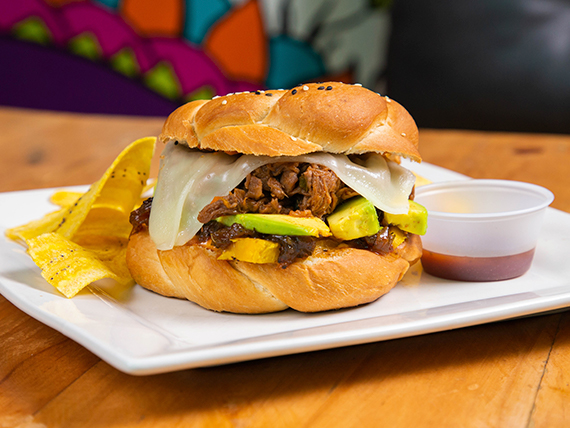 Ropa Vieja Burger