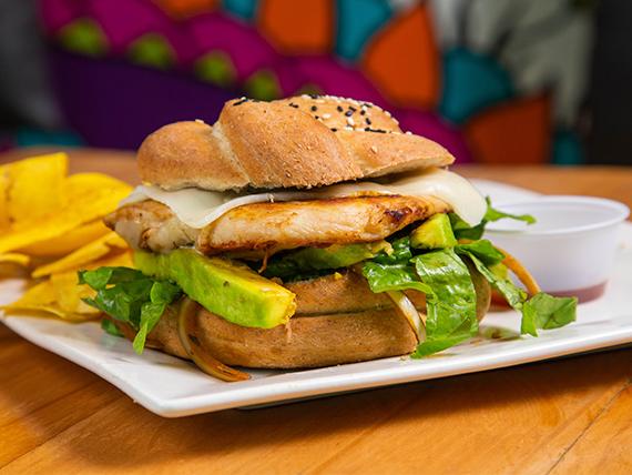 Chicken Grilled Burger