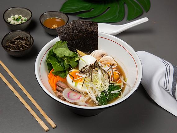 Sopa Miso Ramen