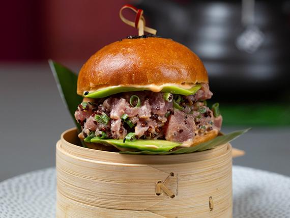 Spicy Tuna Bao Bun