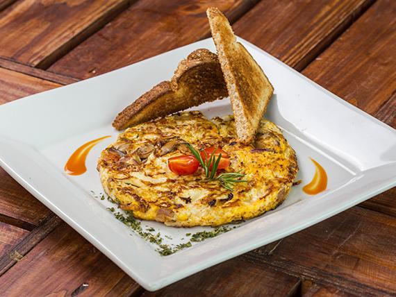 Omelette Primavera