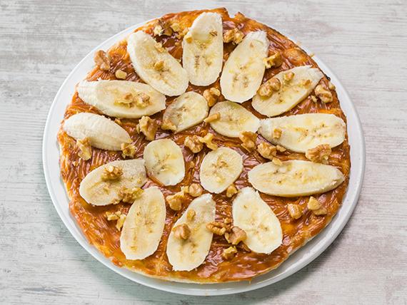 Pizza de Dulce de Leche