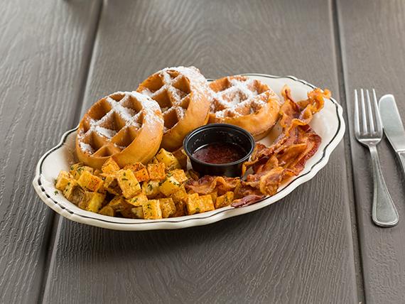 Waffles Platter