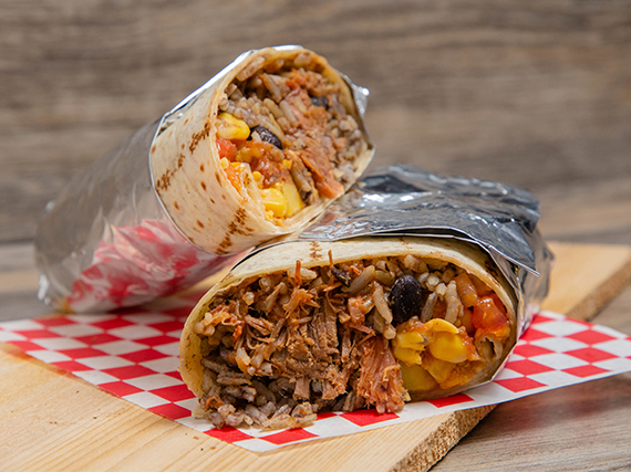 Burrito de Carne Molida (10 pulgadas)