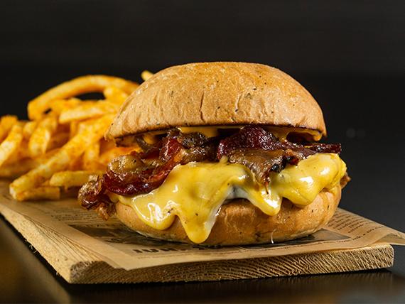 Ohh Cheeses Burger