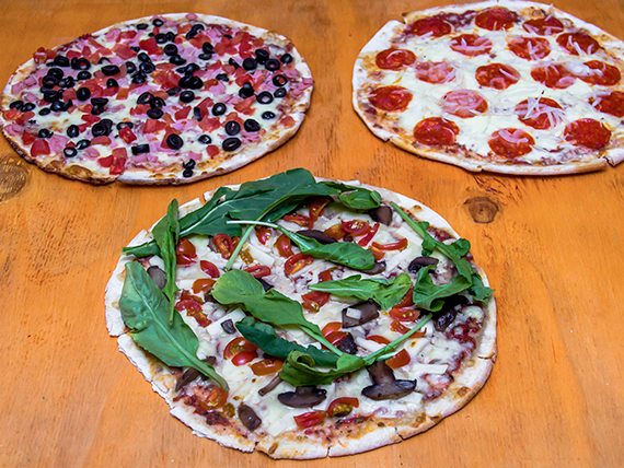 Promo - 3 pizzas familiares