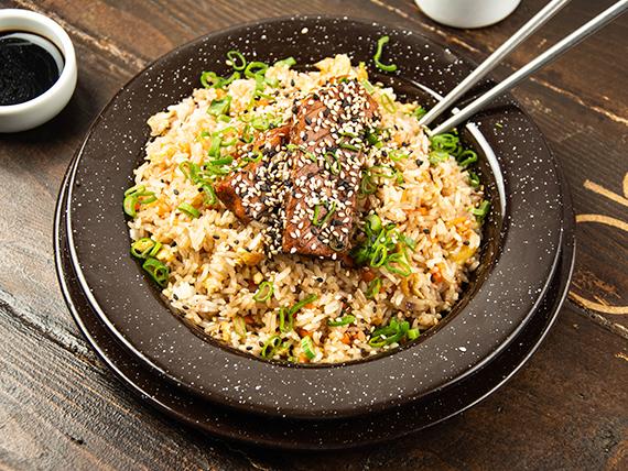 Yakimeshi wok