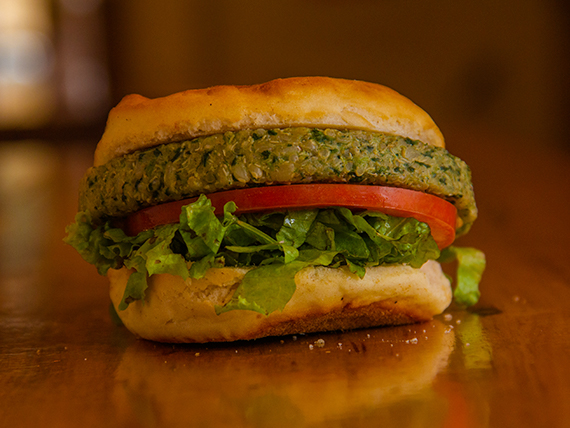 Hamburguesa vegetariana (sin TACC)