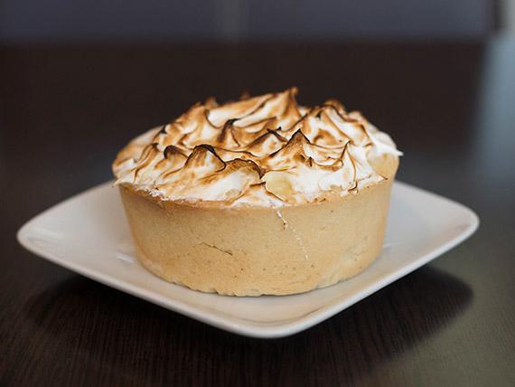 Lemon pie (porción)