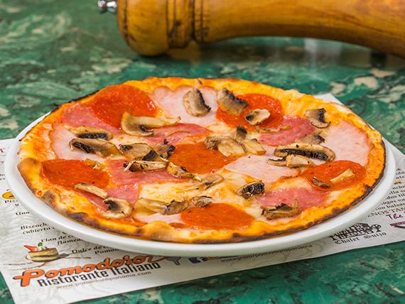 Pizza chato marciano