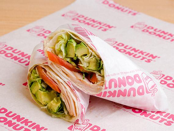 Wrap fresh gourmet de pavo