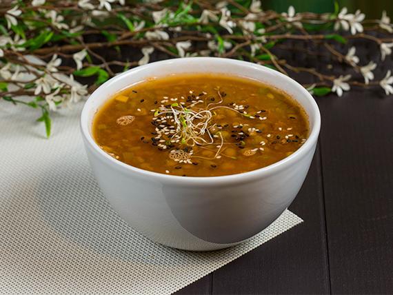 Sopa Lentejas y Verduras