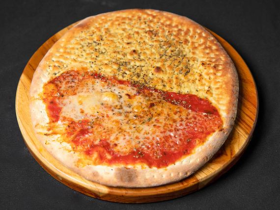 Pizzas mitad y mitad pequeñas