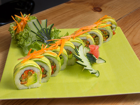Vegano roll (10 unidades)