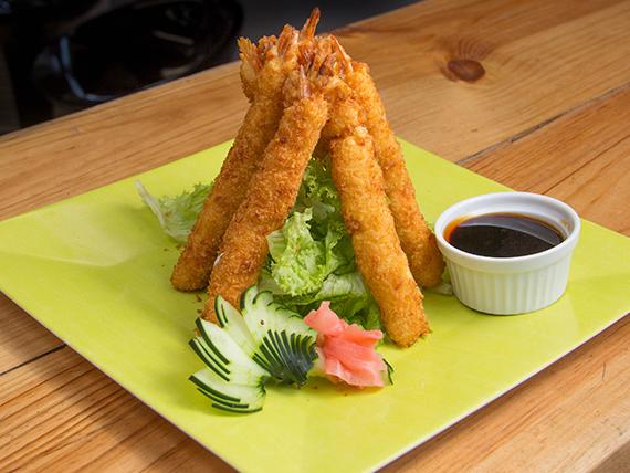 Camarones tempura  (6 unidades)