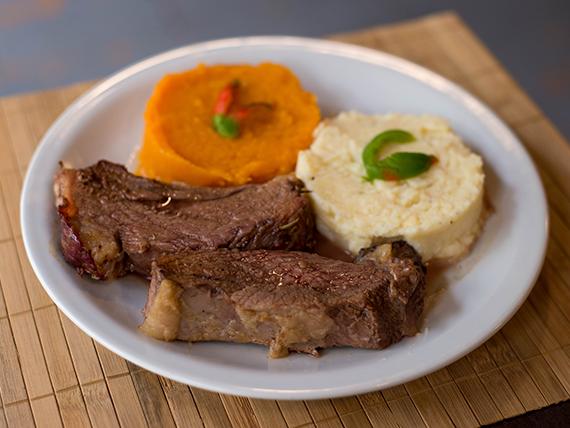 Sugerencia del día - Carne al horno con guarnición