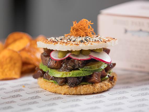 Sushi Burger tuna